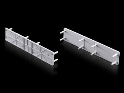 Cobertura para seccionadores verticais sob carga para fusíveis NH
