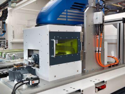 Laser labelling system