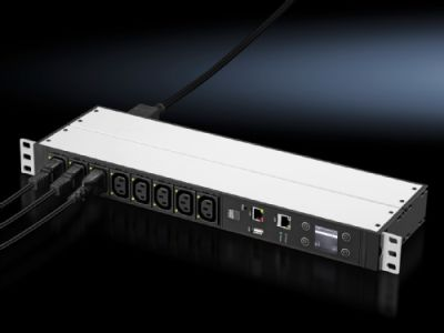 "PDU 482.6 mm (19""), horizontal, switched version"