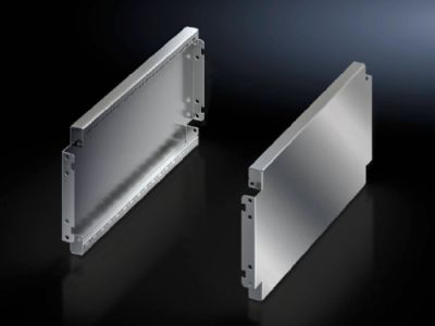 Base/plinth trim panels, side, 200 mm, stainless steel for base/plinth system VX
