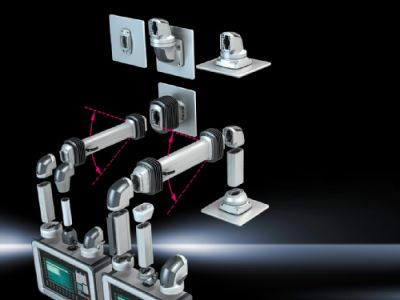 Support Profile, Height-Adjustable for support arm systems