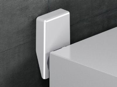Wall mounting bracket for AX sheet steel, KX sheet steel