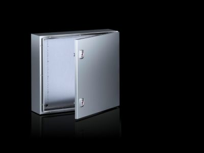 AX compact control cabinet Basic enclosure AX, stainless steel