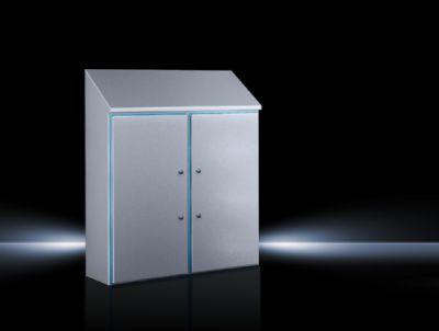 Hygienic Design Kompaktowa szafa sterownicza HD, dwudrzwiowa