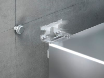 Wall mounting bracket for AX stainless steel, KX stainless steel