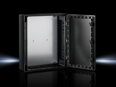 Coffrets Ex Coffrets électriques AX en polyester avec porte sur charnières