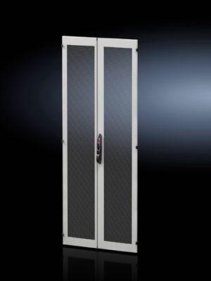 Стальная дверь, двустворчатая, с вентиляцией для VX IT