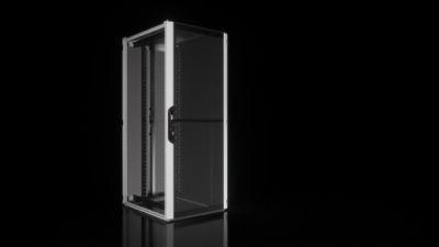 """Netwerkbehuizing/serverrack VX IT Fast & Easy met geventileerde deuren, met standaard 19""""-profielen"""