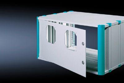 Задняя дверь для установки вентиляторов