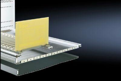 Защитная панель, исполнение 4 (верхняя/нижняя с окантовкой 1/2 U)