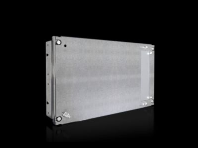Partial mounting plate for compartment side panel
