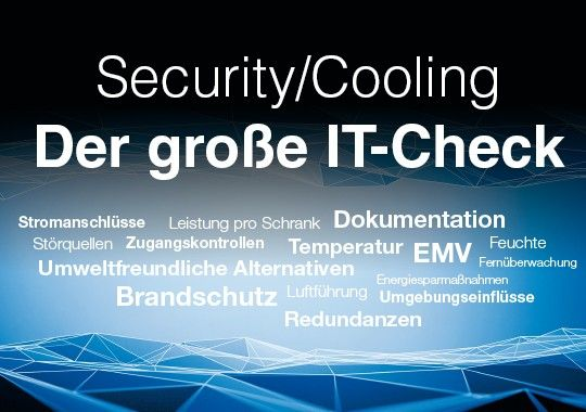 IT-Security-Check und  IT-Cooling-Check