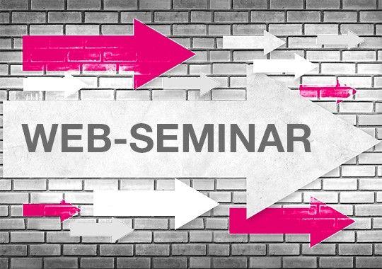 Web-Seminare  für IT und für den Schaltschrankbau