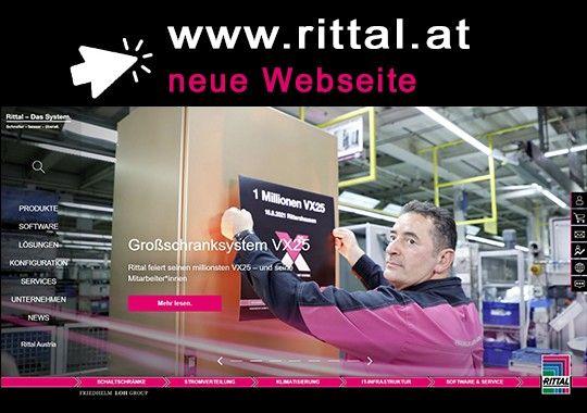 Die neue Rittal Webseite