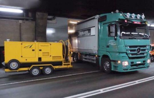 Des plateformes système innovantes pour les postes de commande dans le tunnel routier du Gothard