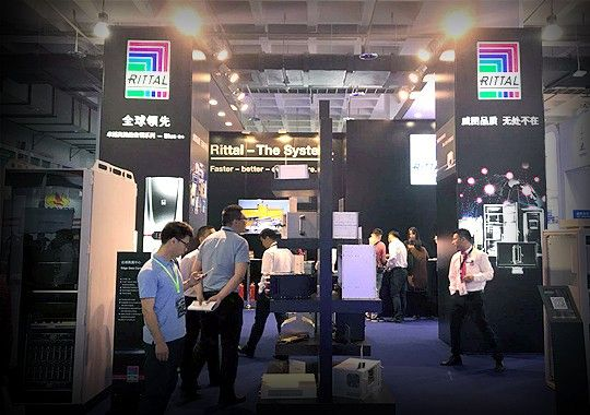 威图参加第十一届国防电子展,助力军工企业走向世界!