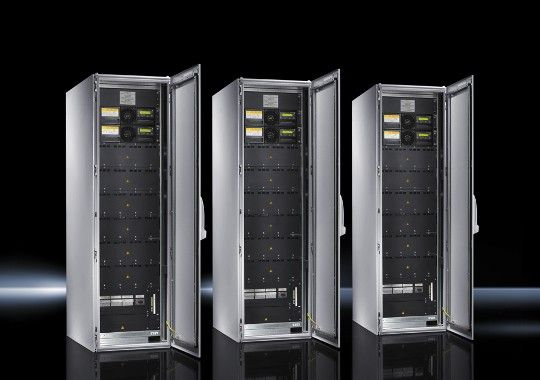Безопасное электропитание ЦОД - с системами ИБП Rittal ABB