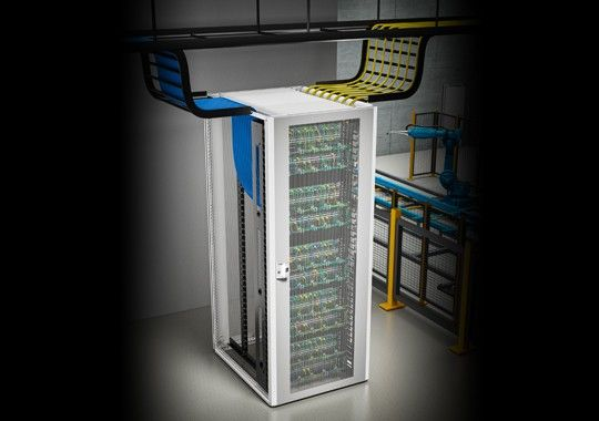 Nuevo gabinete TX CableNet, Elevando la administración de cableado a un nuevo nivel