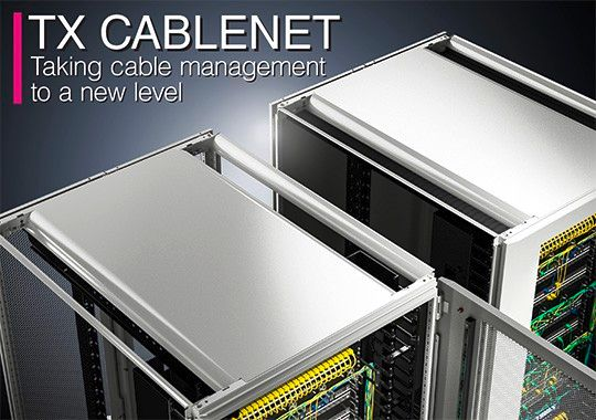 TX Cablenet - raising Cable Management to a new level!