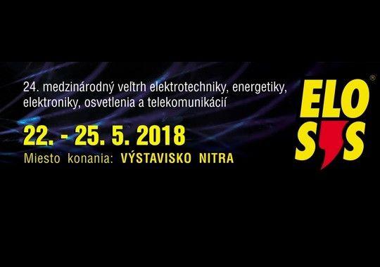 Srdečne Vás privítame na veľtrhu Elosys v Nitre (22.-.25.5.2018) A 22.5. v utorok o 13:00 to nastane!
