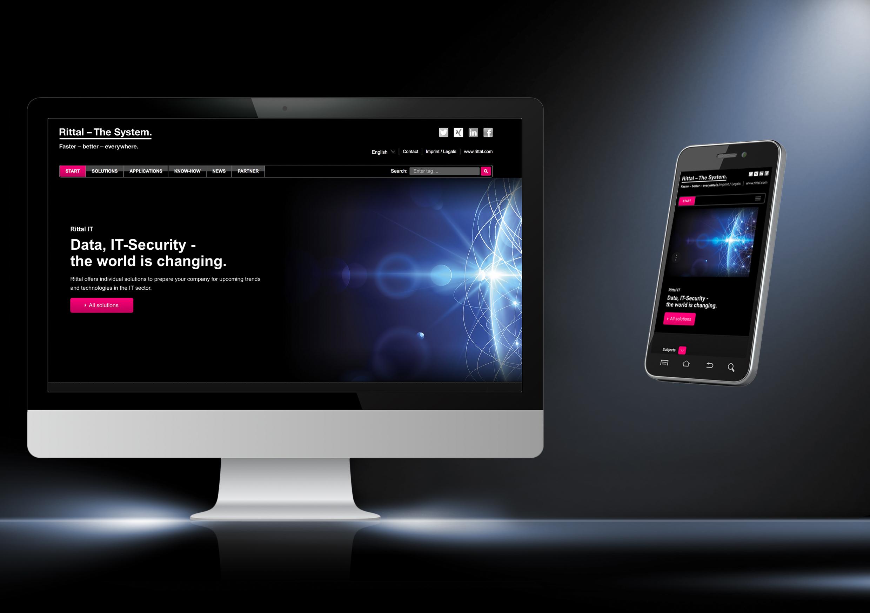 Rittal har en ny websida för IT - kompetens inom lösningar för alla IT-scenarier