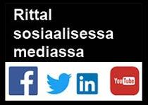 Löydät meidät sosiaalisesta mediasta!