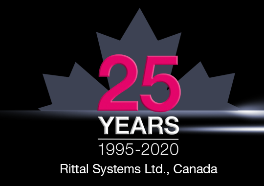 Rittal Systems Ltd. Celebrates 25 Years in Canada!
