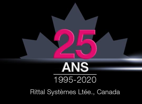 Rittal fête ses 25 ans au Canada!