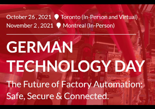 Rittal invites you to the 3rd Annual German Technology Day 2021