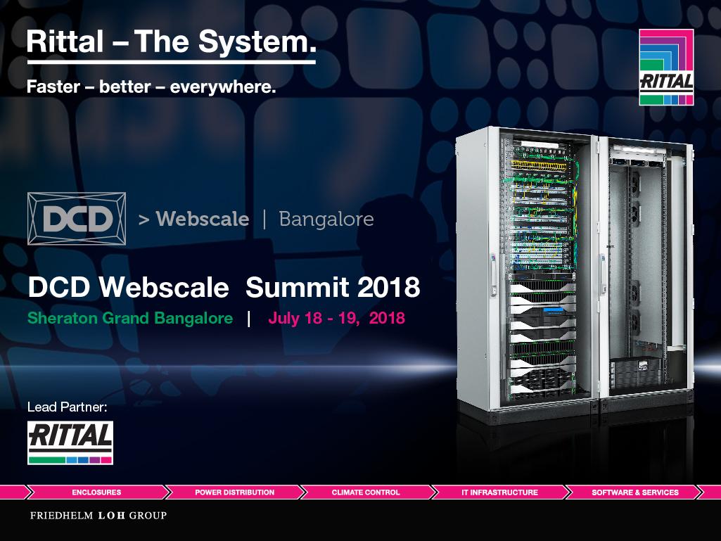 DCD Webscale 2018