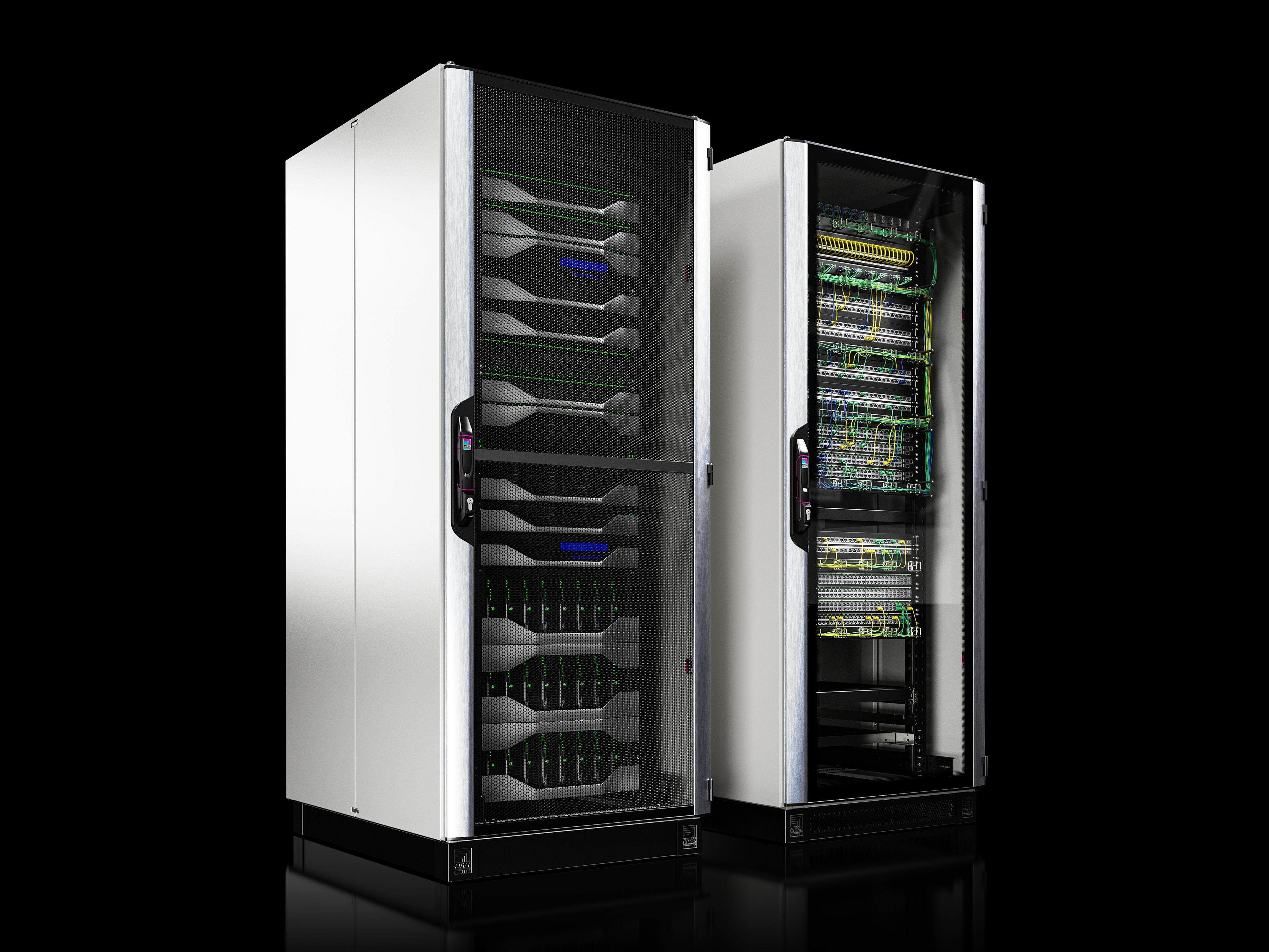 Einzig in seiner Art. VX IT - das schnellste IT-Rack der Welt.