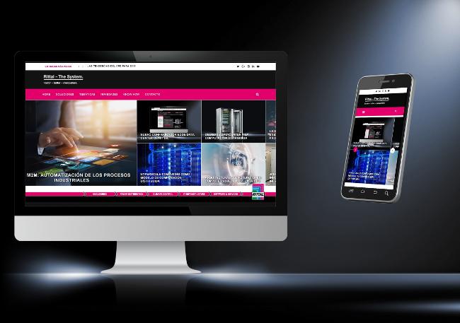 Rittal y su nueva web TI – Expertise en soluciones para todos los escenarios de las TIC