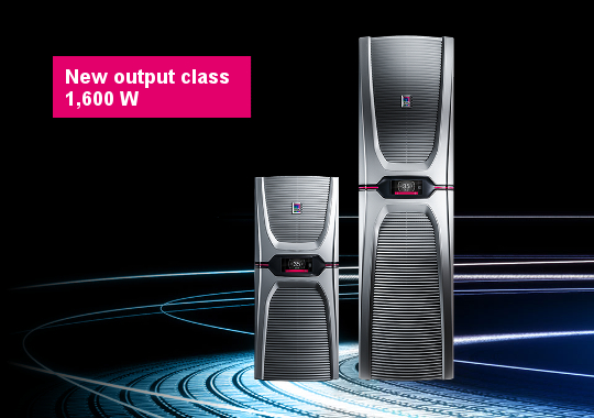 The Blue e+ cooling unit series – the ultimate in efficiency. Worldwide.