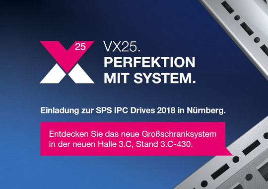 SPS IPC Drives  vom 27. - 29.11.2018