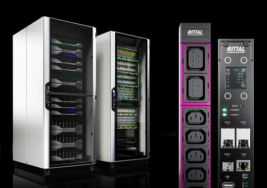 Eine unschlagbare Verbindung. Das schnellste IT-Rack und die neue PDU-Generation.