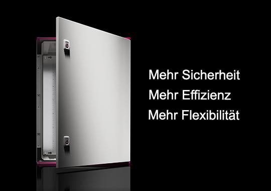 Kunststoff-Schaltschränke AX. Das Mehr an Beständigkeit.