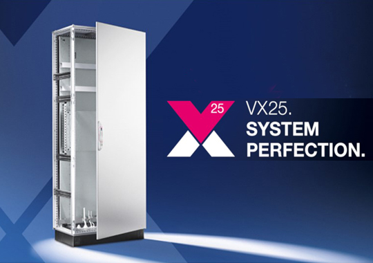 Nuevo armario metálico autosoportado modular VX25