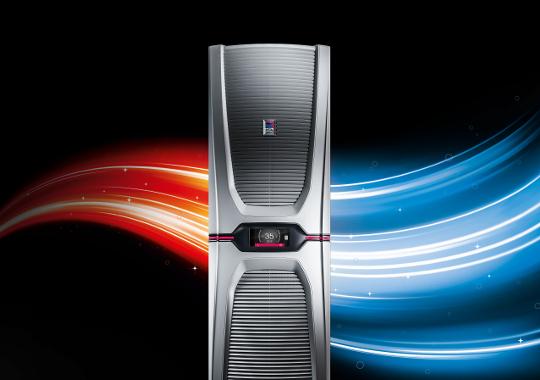 """全球首创。""""Blue e+""""冷却装置 - 终极高效。"""