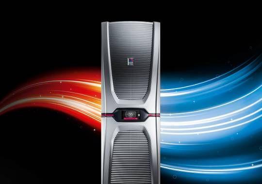 World's first. Blue e+ - La gamma di condizionatori più efficienti al mondo.