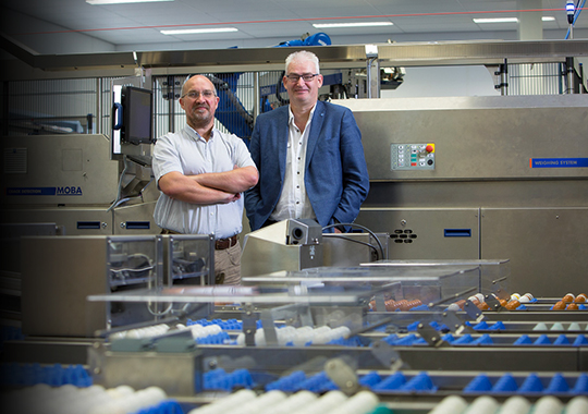 Moba: Slim bouwen voor de mondiale eierindustrie