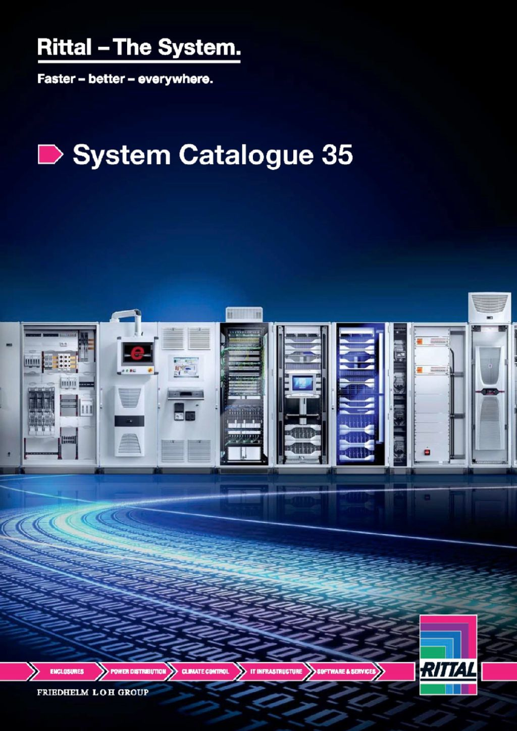 Rittal Publishes New System Catalogue