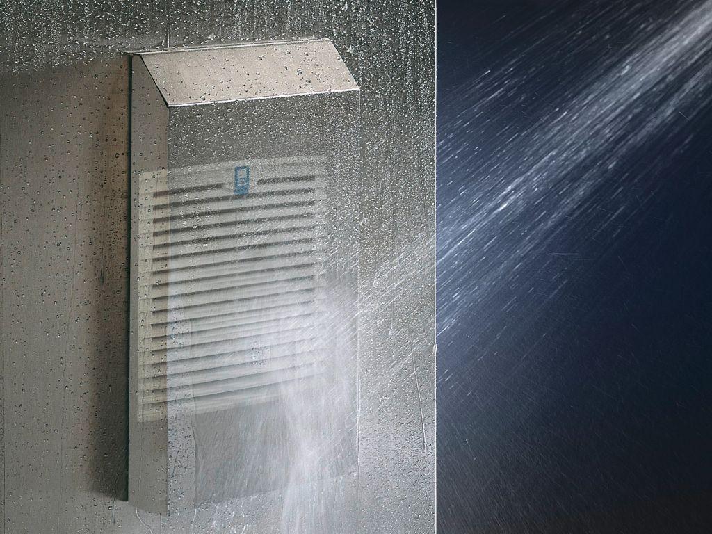 Cubierta contra agua a presión para aumentar el grado de protección