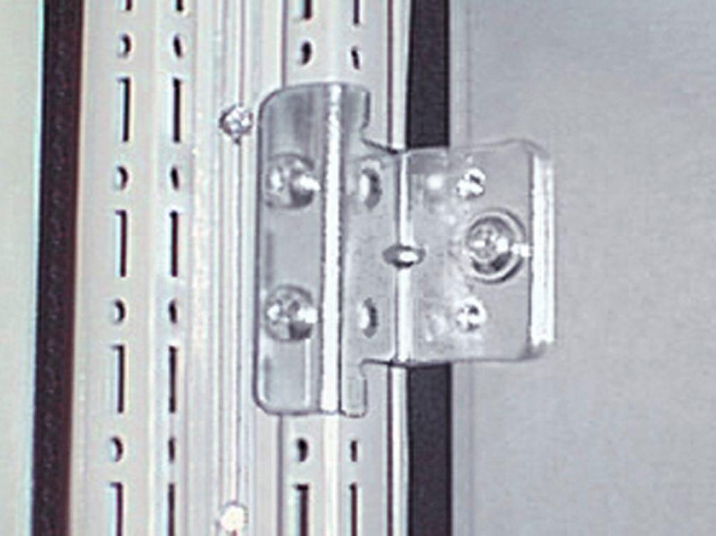 垂直連結ブラケット 仕切りパネル付きTS/TS用