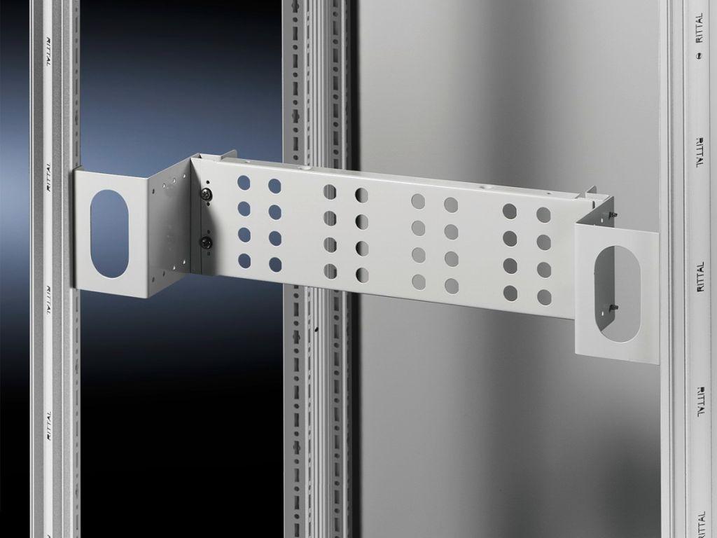 Adaptor kit, 3 U for enclosure width 800 mm