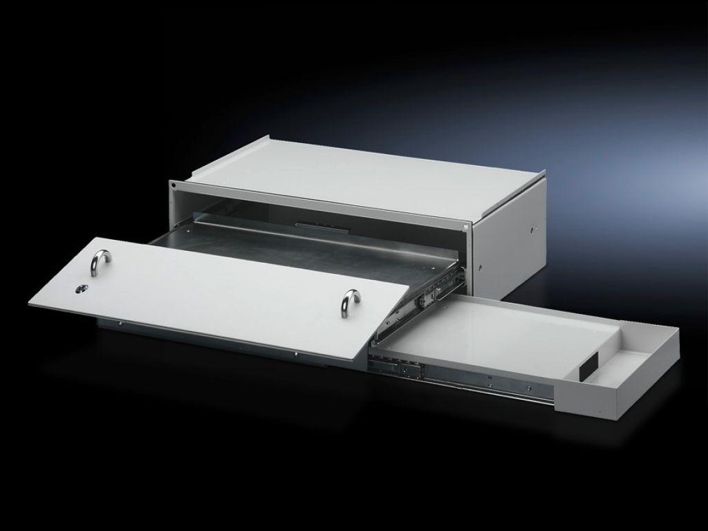 Schublade für Tastatur und Mouse mit Ablage für Mousepad