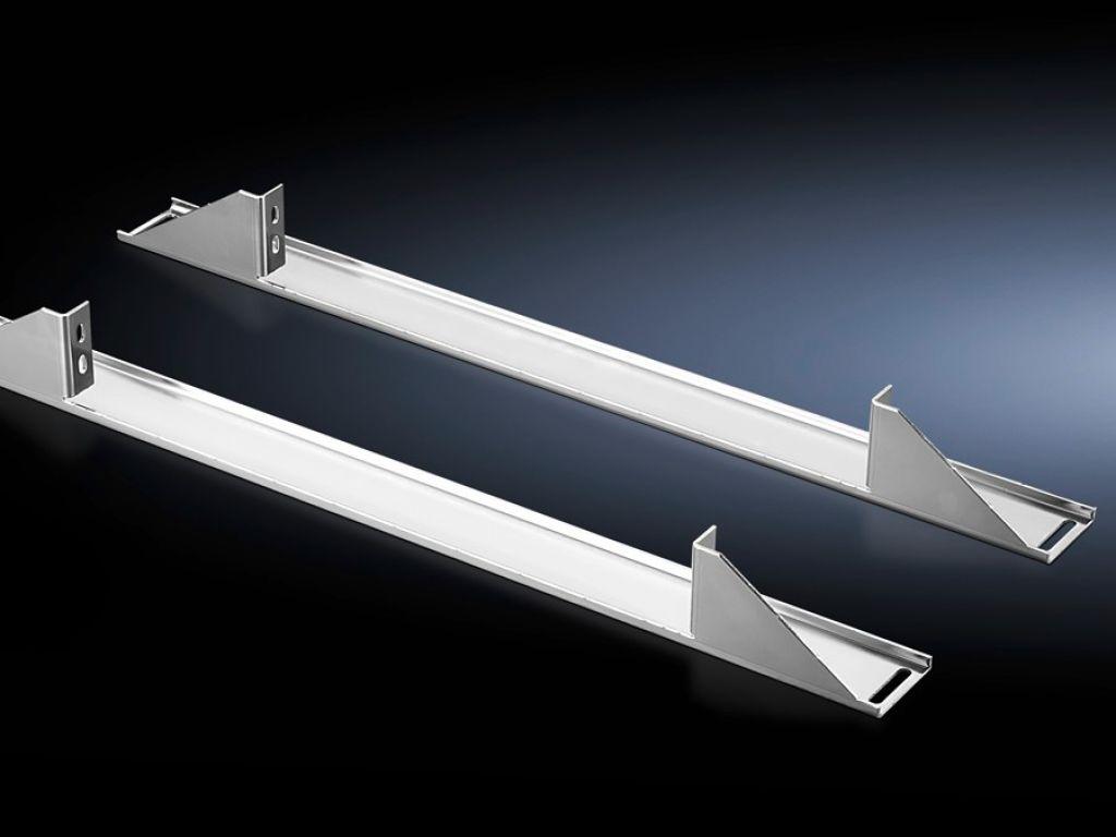 Монтажный уголок TS для L-образных профильных шин в TS, 482,6 мм (19