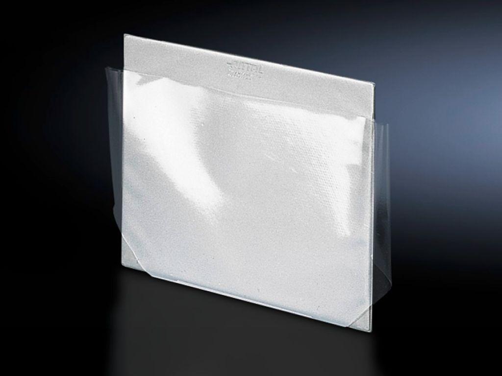 带透明盒的线路图盒