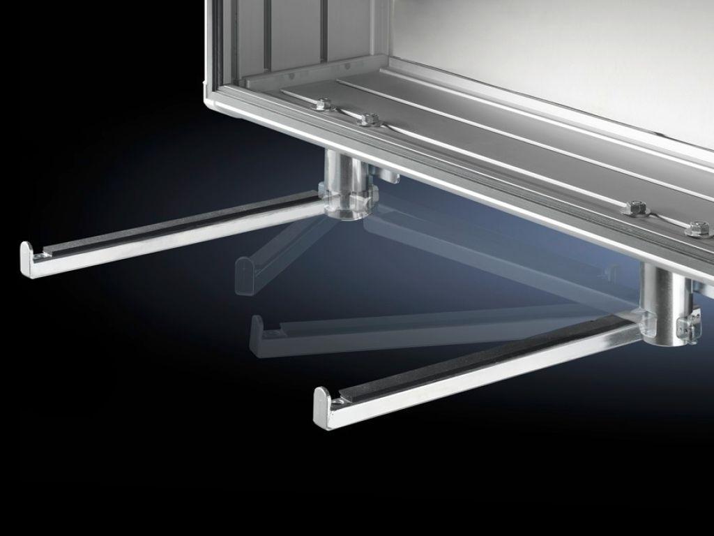 Utility bar, vertically hinged