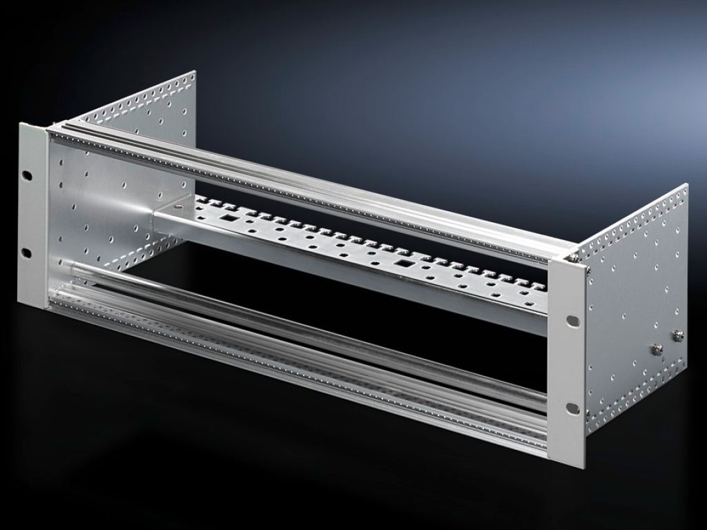 Fixture with rods, 3 U for LSA strips