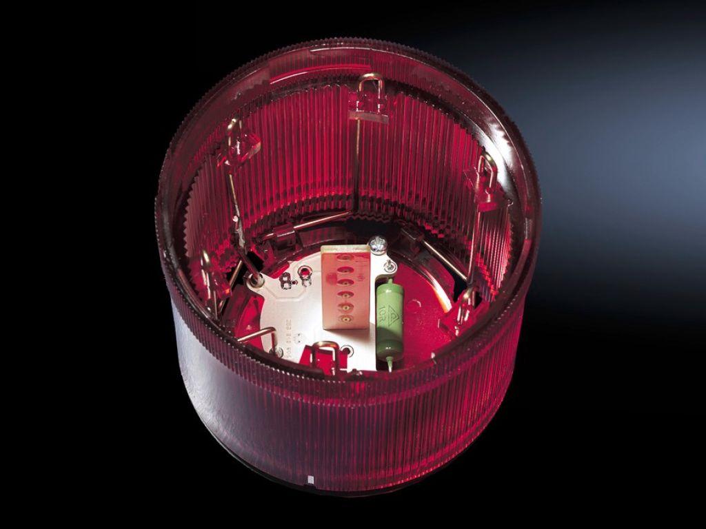 Flitslichtelement voor signaalzuilen, modulair